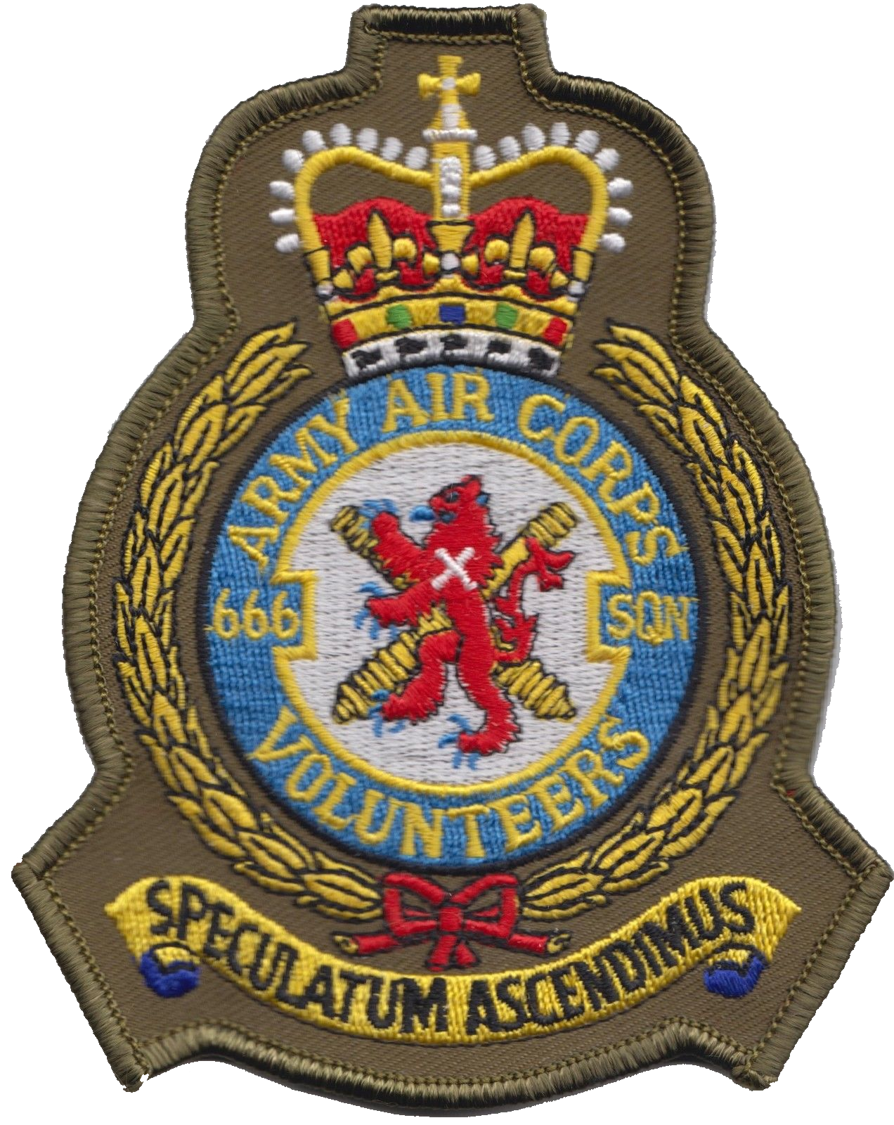 No 666 squadron british army air corps aac crest olive mod 666 squadron british army air corps aac crest olive mod embroidered patch biocorpaavc Gallery