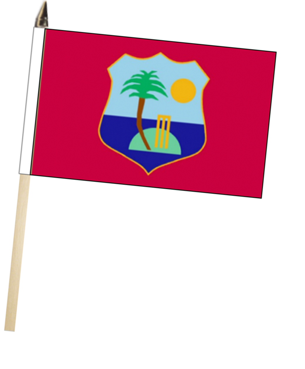 West Indies Cricket Team Windies Large Hand Waving Flag