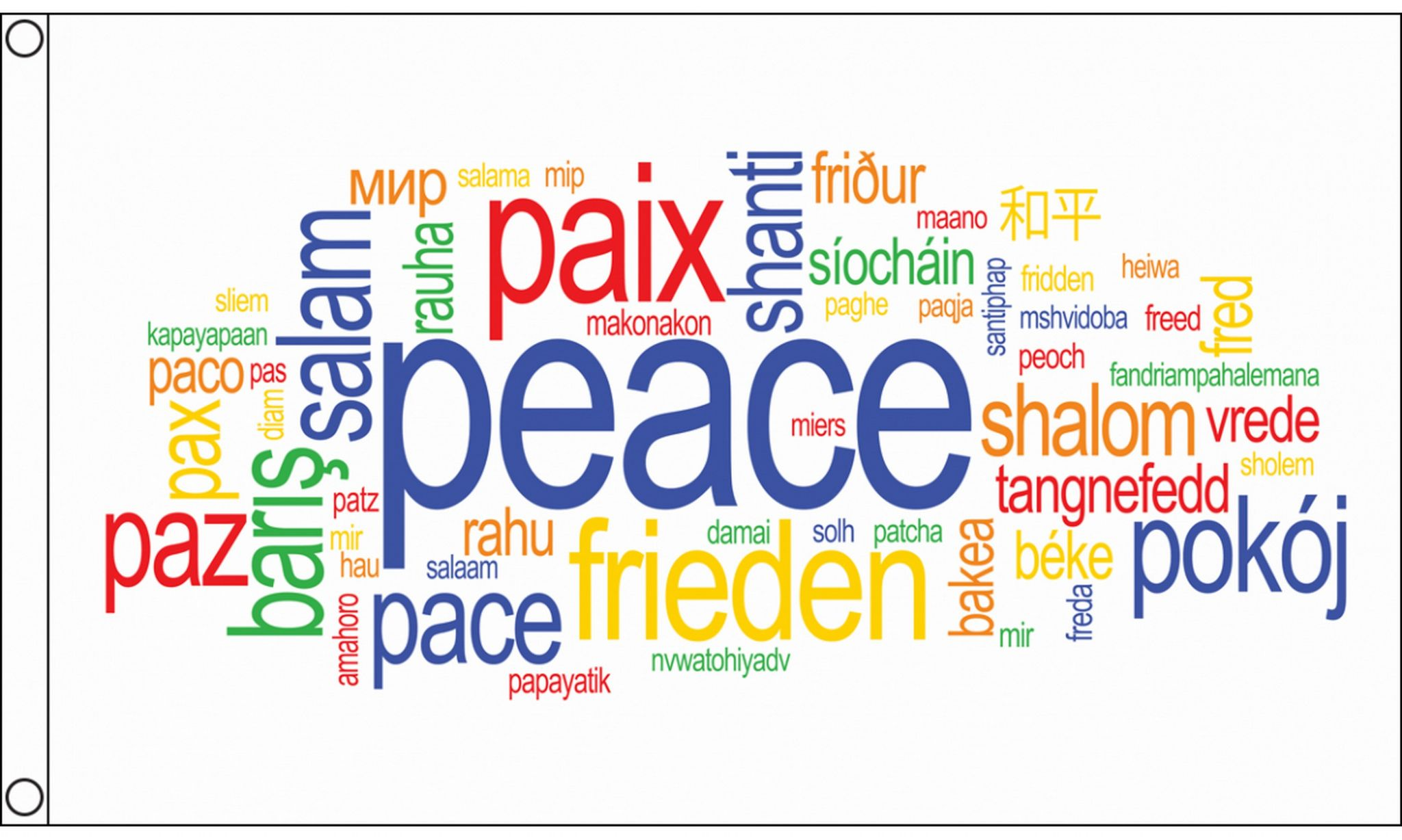 how to say peace in different languages