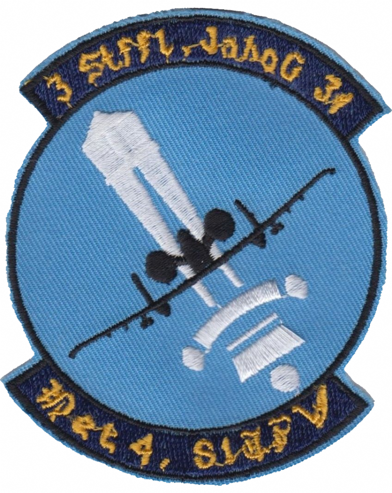 United States Air Force Wings Logo Round Embroidered Patch