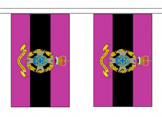 5m with 14 Flags British Army Royal Army Chaplains/' Polyester Flag Bunting