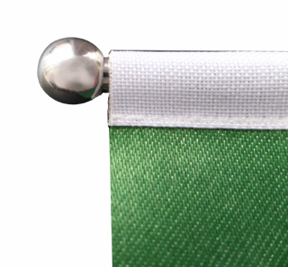 Colombia Satin Desk Table Flag with Chrome base and pole