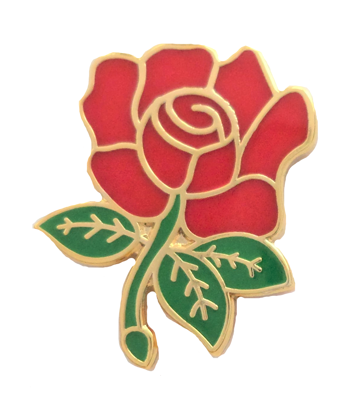 Red Rose Foundation Australia Home: England Rugby Red Rose Pin Badge