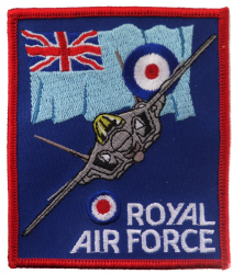 Royal Air Force RAF Hawker Siddeley Vulcan Triangle Embroidered Patch