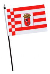 Germany Thuringia State Small Hand Waving Flag