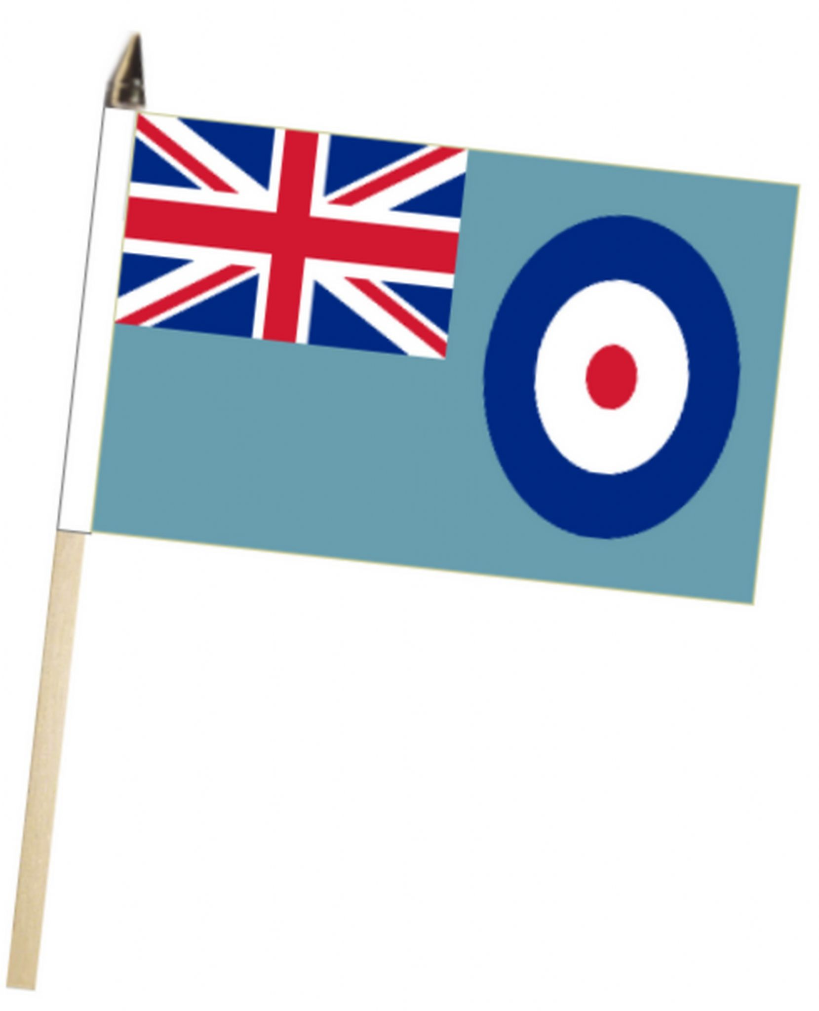 Royal Air Force RAF Ensign Large Hand Waving Flag